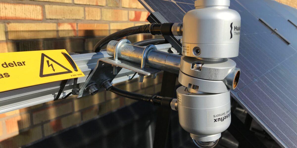 Enköping Hus B, sensorer och BiFacial solceller